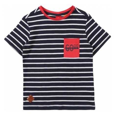 S.Oliver Junior Koszulka niebieski / biały
