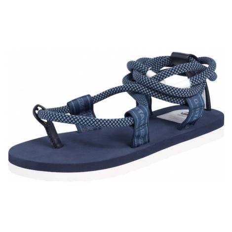 G-Star RAW Sandały biały / niebieski