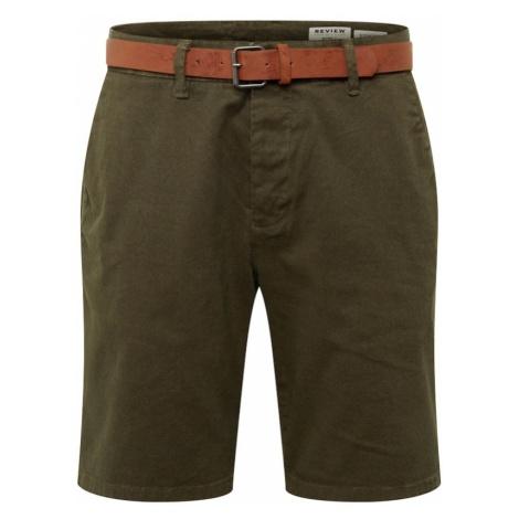Review Spodnie oliwkowy