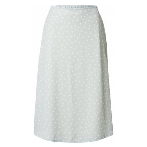 SISTERS POINT Spódnica 'MAE' biały / pastelowy zielony