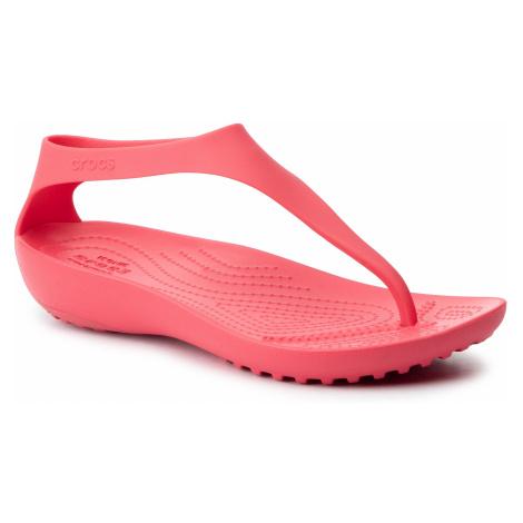 Sandały CROCS - Serena Flip W 205468 Poppy