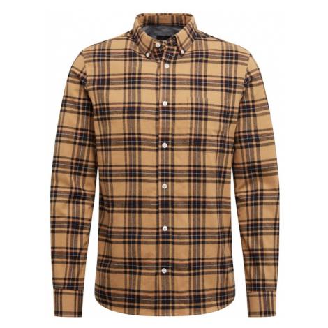BURTON MENSWEAR LONDON Koszula brązowy / czarny