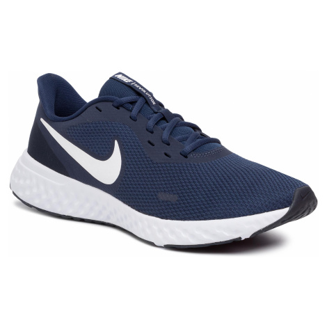 Buty NIKE - Revolution 5 BQ3204 400 Midnight Navy/White