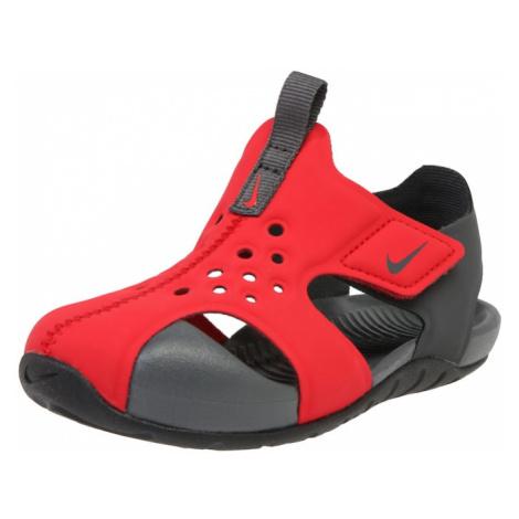 NIKE Buty na plażę/do kąpieli 'Sunray Protect 2 (TD)' czerwony / czarny