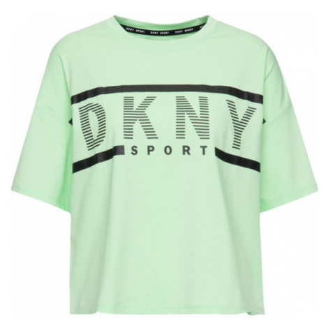 DKNY Sport T-Shirt DP9T6849 Zielony Regular Fit