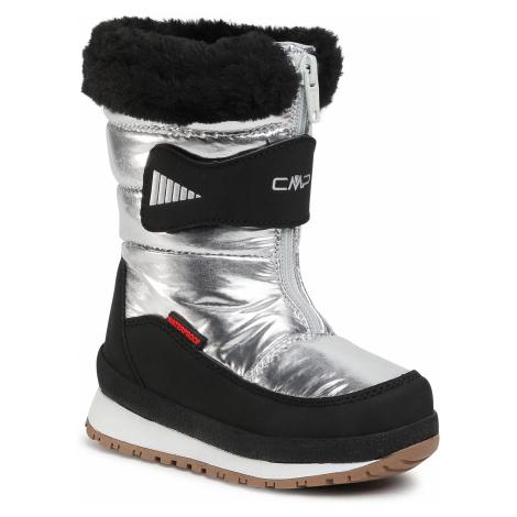 Śniegowce CMP - Baby Ehos Snow Boot Wp 30Q4602 Silver U303