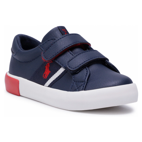 Sneakersy POLO RALPH LAUREN - Toddler RF102515 Navy/Red