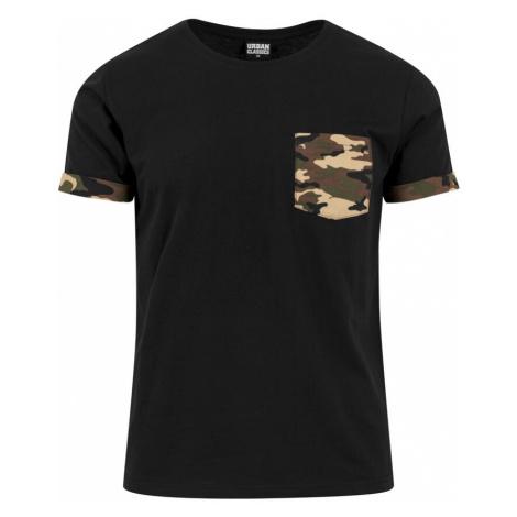 Urban Classics Koszulka czarny / kasztanowy / oliwkowy / cappuccino