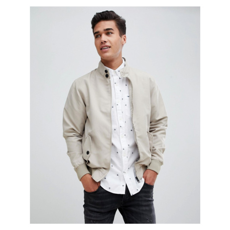Brave Soul Harrington Lined Jacket