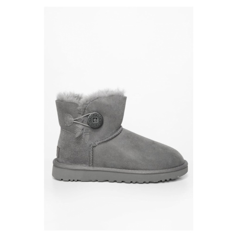 Śniegowce Ugg Mini Bailey Button Ii Grey