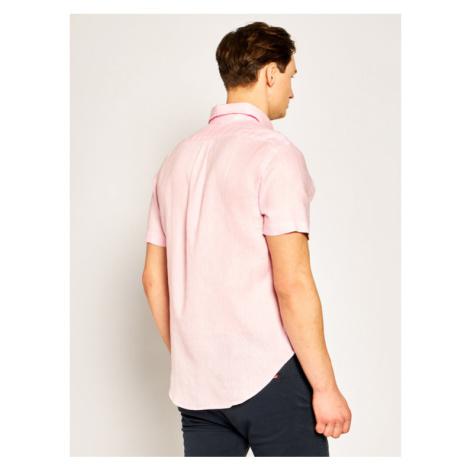 Polo Ralph Lauren Koszula Classics 710795452 Różowy Custom Fit