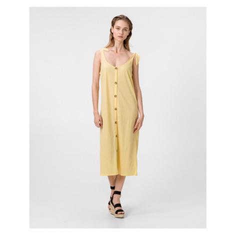 Vero Moda Petra Sukienka Żółty