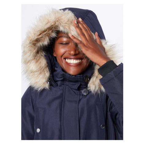 VERO MODA Parka zimowa 'Excursion Expedition' niebieska noc