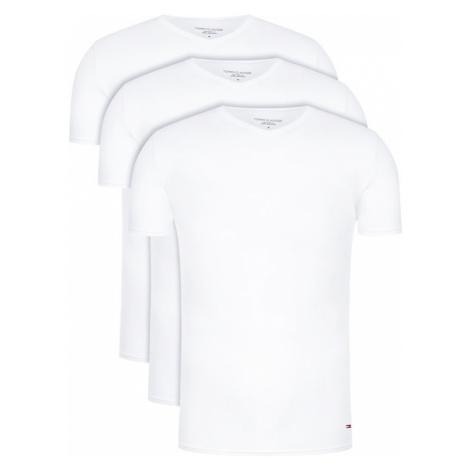 Tommy Hilfiger Komplet 3 t-shirtów Vn Tee Ss 3 Pack Premium Essentialis 2S87903767 Biały Regular