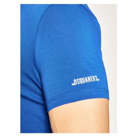 Dsquared2 Underwear T-Shirt D9M203010 Niebieski