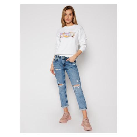 Levi's® Bluza Standard Graphic Fleece 18686-0004 Biały Regular Fit Levi´s