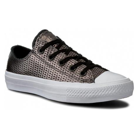 Trampki CONVERSE - Ctas II Ox 555799C Black/Black/White