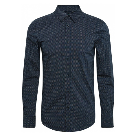 UNITED COLORS OF BENETTON Koszula niebieski