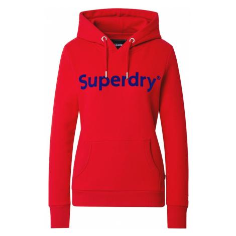 Superdry Bluzka sportowa czerwony / ciemny niebieski