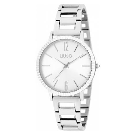 Liu Jo Biphasic Zegarek Srebrny