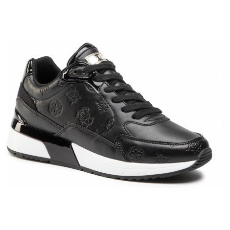 Sneakersy GUESS - Moxea2 FL5MX2 PEL12 BLACK