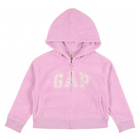 GAP Bluza polarowa pastelowy fiolet / pudrowy