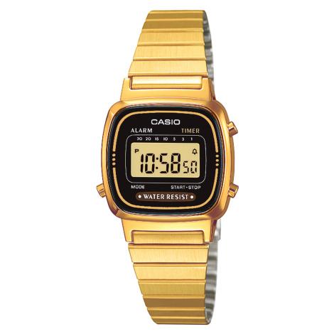 Zegarek CASIO - Vintage LA670WEGA-1EF Gold/Gold