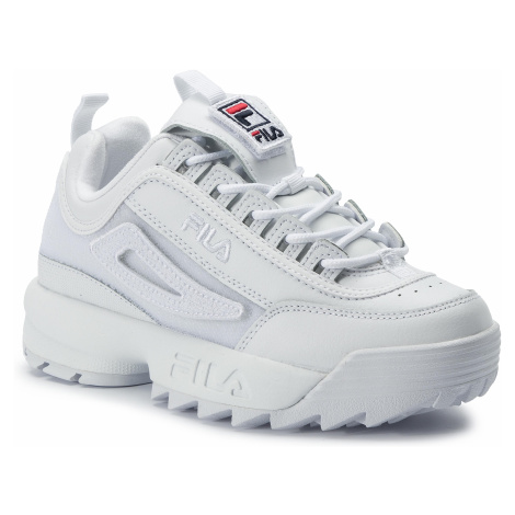 Fila Disruptor II platform wedge trainers in black exclusive