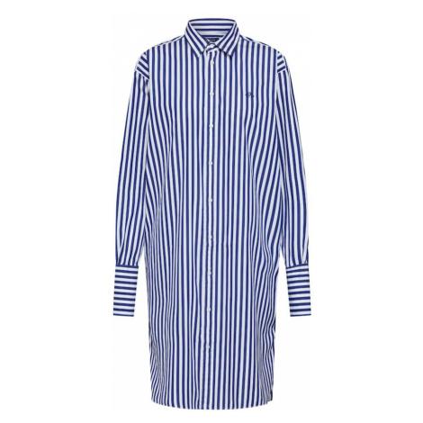 POLO RALPH LAUREN Sukienka koszulowa niebieski / biały