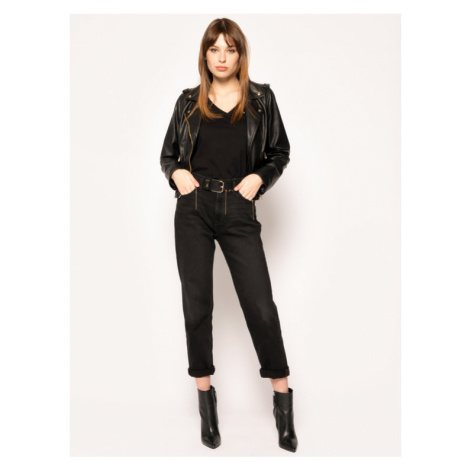 Tommy Jeans T-Shirt DW0DW06899 Czarny Slim Fit Tommy Hilfiger