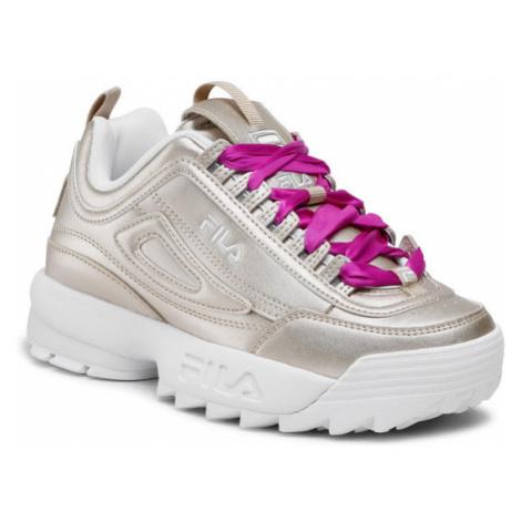 Fila Sneakersy Disruptor F Wmn 1011236.80C Złoty