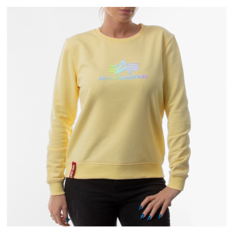 Bluza damska Alpha Industries Rainbow Sweater Wmn 126068 495