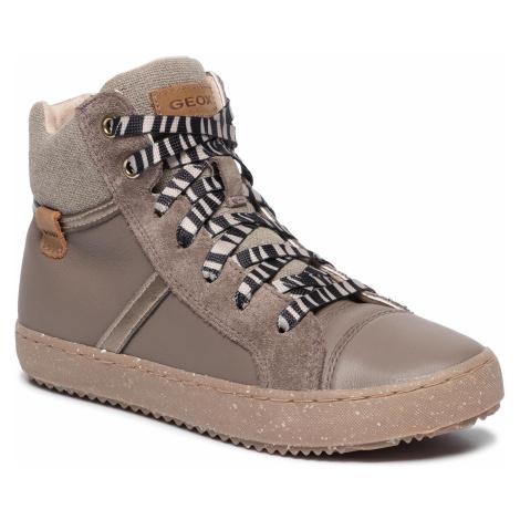 Sneakersy GEOX - J Kalispera G. F J944GF 04322 C9006 S Smoke Grey