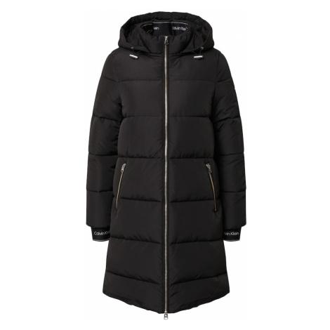 Calvin Klein Płaszcz przejściowy czarny
