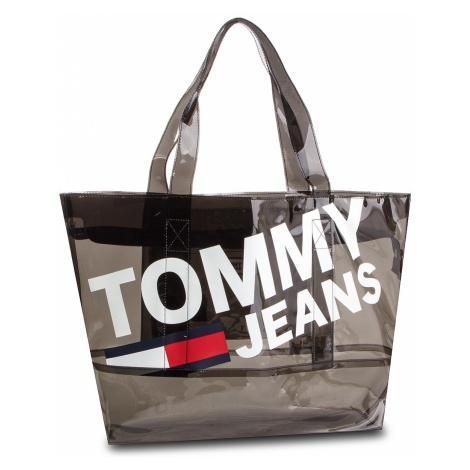 Torebka TOMMY JEANS - Tju Summer Tote Tran AU0AU00589 002 Tommy Hilfiger