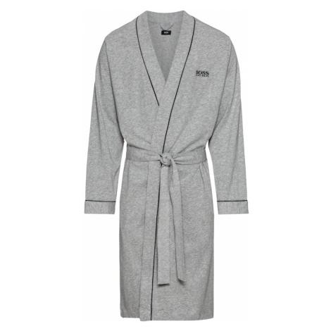 BOSS Szlafrok krótki 'Kimono BM' szary Hugo Boss