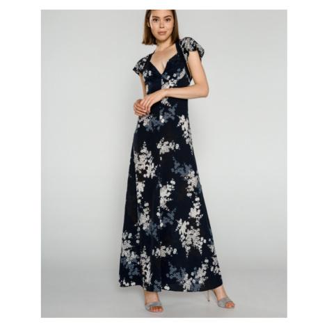 French Connection Rishiri Sukienka Niebieski