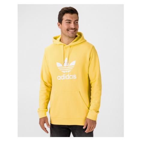 adidas Originals Trefoil Bluza Żółty