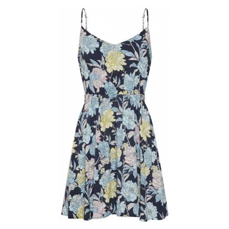 Review Letnia sukienka 'FLARED AOP DRESS' mieszane kolory
