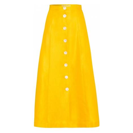 IVY & OAK Spódnica żółty