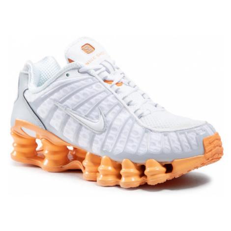 Nike Buty Shox Tl AR3566 101 Biały