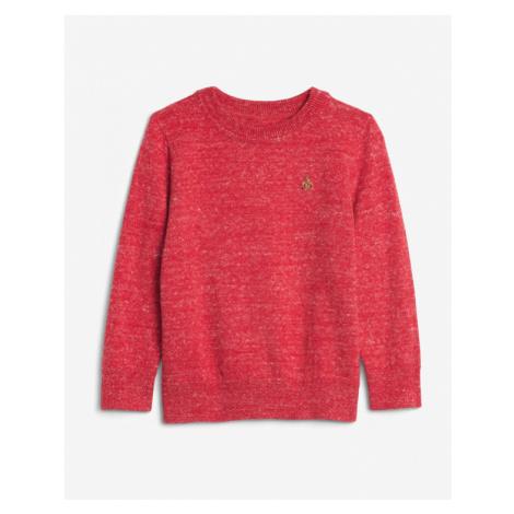 GAP Sweter dziecięcy Czerwony