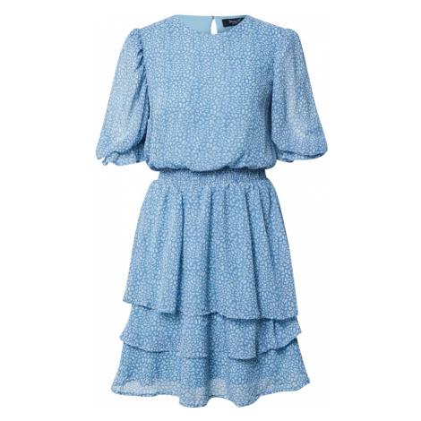 SISTERS POINT Sukienka 'NICOLINE' biały / podpalany niebieski