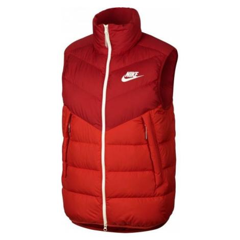 Nike NSW DWN FILL WR VEST czerwony S - Bezrękawnik męski