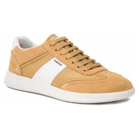 Sneakersy GEOX - U Kennet A U926FA 02214 C2D1Z Curry/White