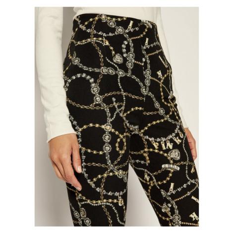 Pinko Spodnie materiałowe AI 19-20 PBK2 1B142J 7736 Czarny Slim Fit