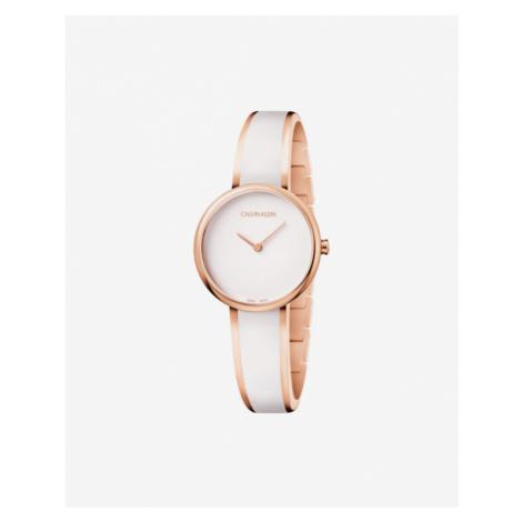 Calvin Klein Seduce Zegarek Biały Złoty