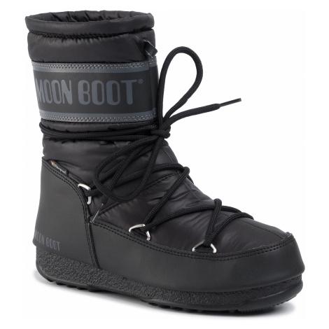 Śniegowce MOON BOOT - Mid Nylon Wp 24009200001 Black