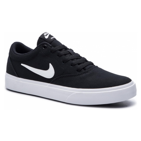 Buty NIKE - Sb Charge Slr CD6279 002 Black/White