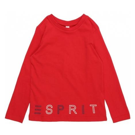 ESPRIT Koszulka czerwony / czarny / biały